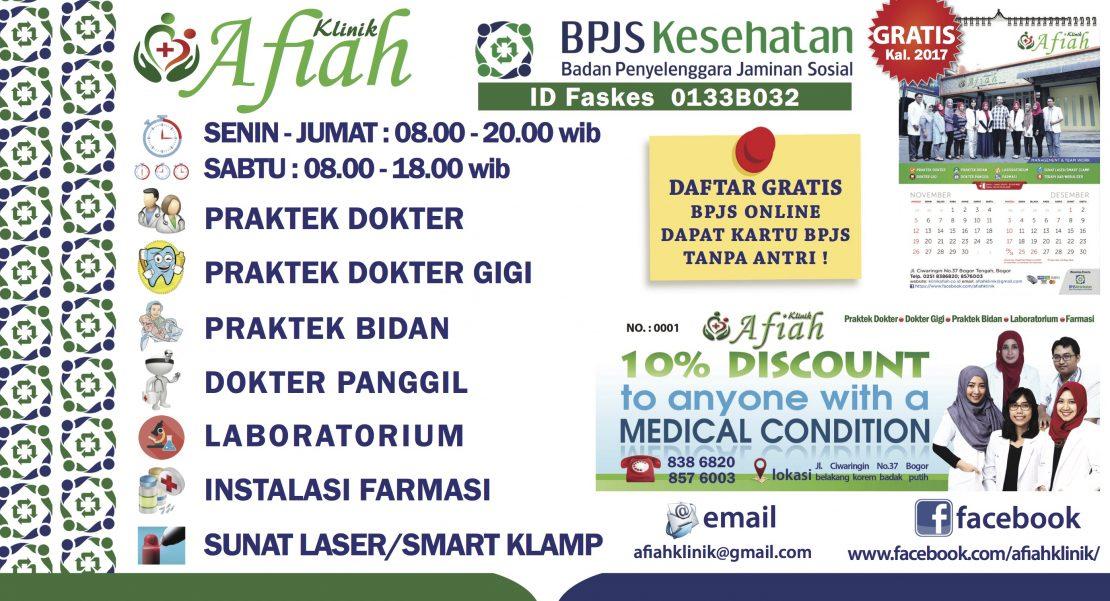 Daftar BPJS - Klinik Afiah